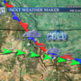 Next weather maker late Thursday