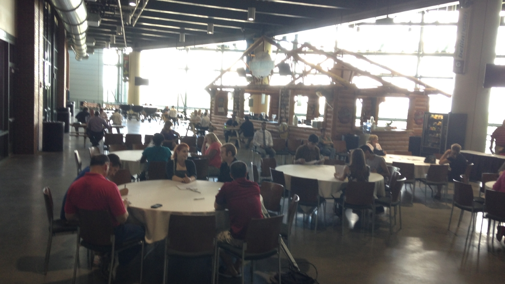 Job Fair at Lambeau in July 2014