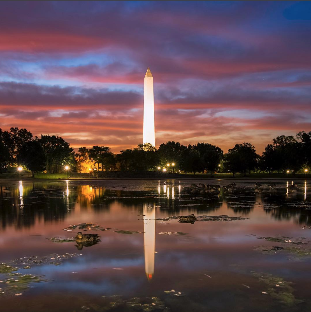 We know D.C. is more than monuments and tourist traps, but #WashingtonDC on Instagram is a way to explore some of the best parts of The District, from the people, to local spots. While we can't resist throwing a few monuments in, here are some of our favorite pics from this catch-all hashtag. (Image via @andy27b)