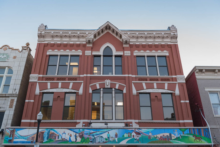 MURAL: Northern Kentucky Panorama / ARTIST: ArtWorks / LOCATION: 717 Madison Avenue (41011) / IMAGE: Mike Menke // Published: 3.22.18