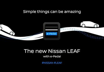 2018 Nissan Leaf to have e-Pedal
