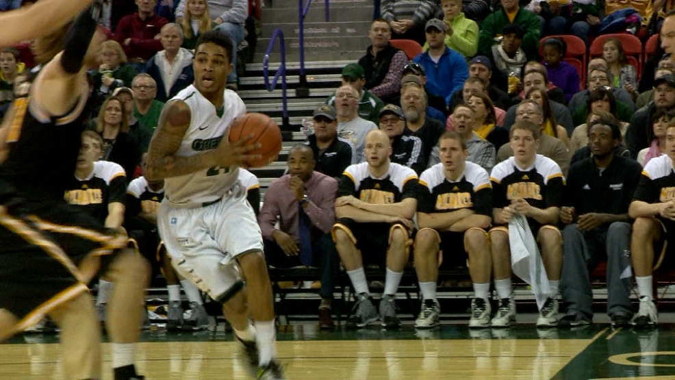 UW-Green Bay's Keifer Sykes was voted the Horizon League's preseason player of the year.