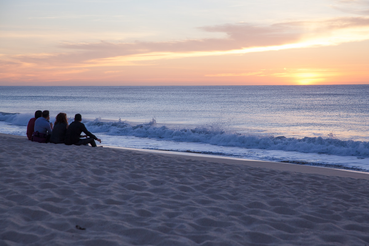 Sunrise on the beach at Hyatt Ziva Los Cabos (Images: Paola Thomas / Seattle Refined)