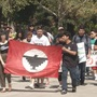 Chico State students march for Cesar Chavez day
