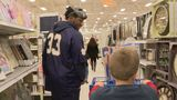 Notre Dame football team gets into holiday spirit during 'Shop with a Player' event