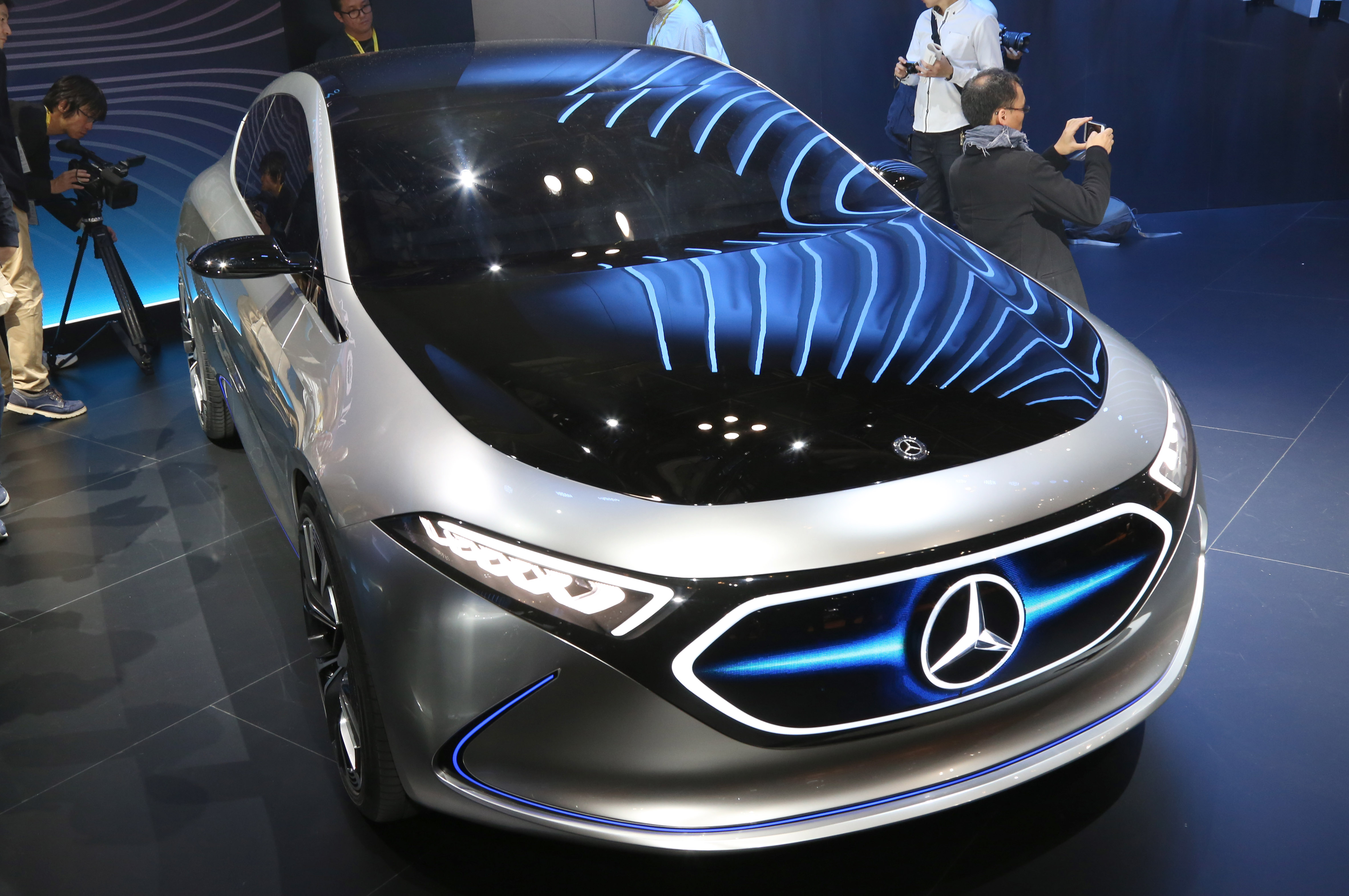 Tokyo Motor Show 2017  Featuring: Mercedes Concept EQA Where: Tokyo, Japan When: 25 Oct 2017 Credit: Yukio Tomita/Future Image/WENN.com  **Not available for publication in Germany**