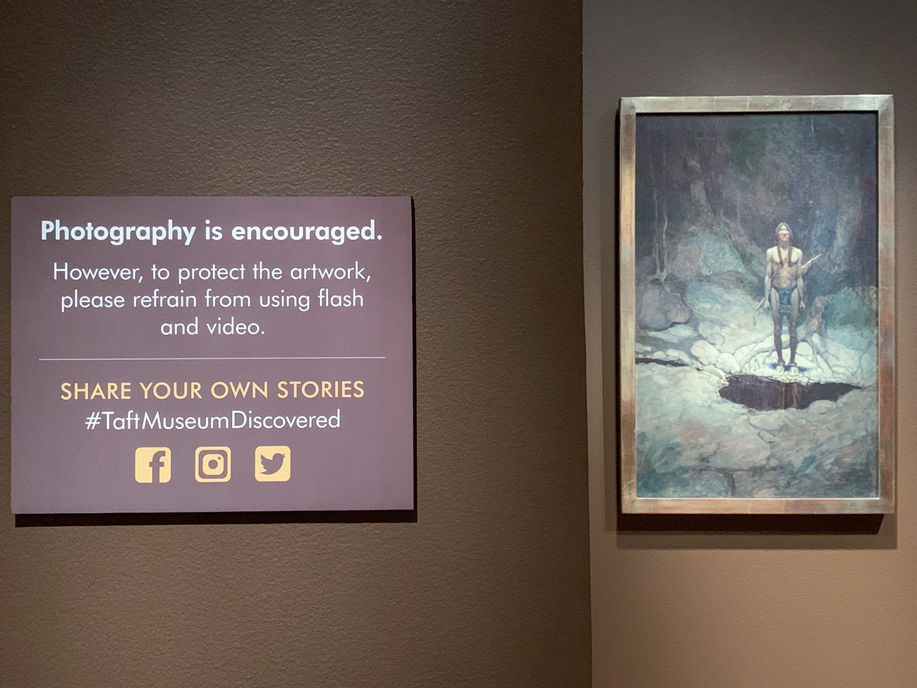 Photography (phone only, no flash) is encouraged in this exhibit. / Image: Phil Armstrong, Cincinnati Refined // Published: 2.9.20