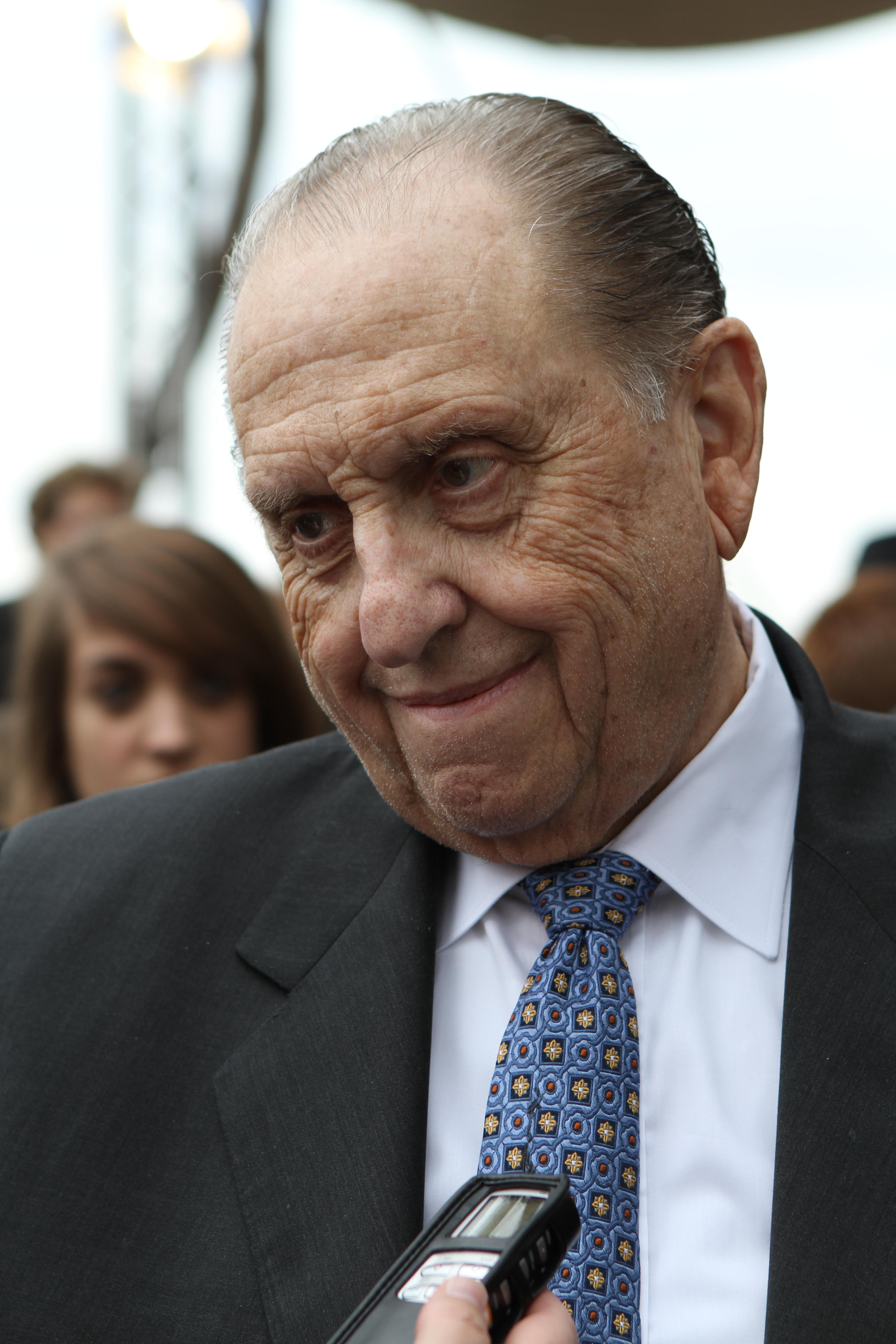 President Thomas S. Monson following Rome Italy Temple groundbreaking on October 23, 2010. (Photo: MormonNewsroom.org)<p></p>