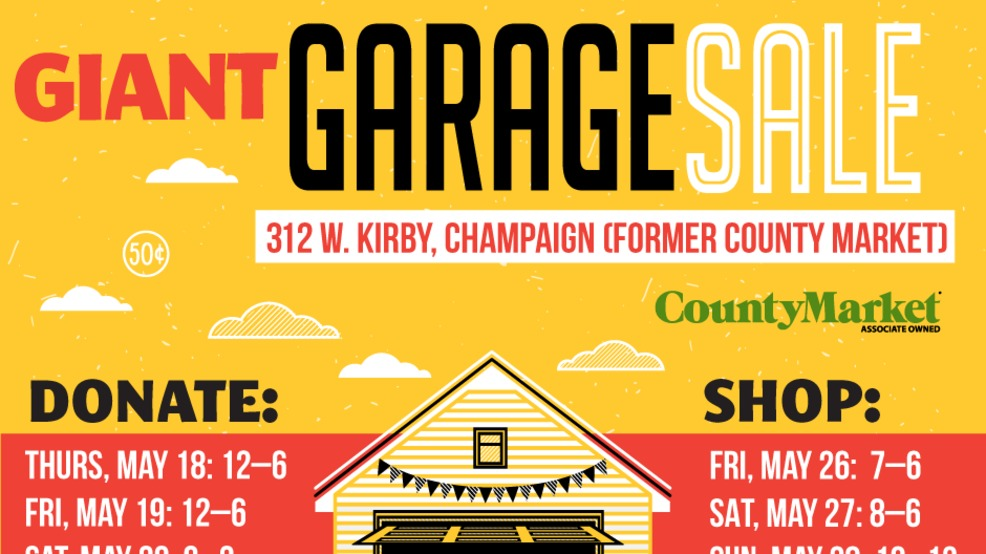 Champaign Humane Society Holding Garage Sale Donation