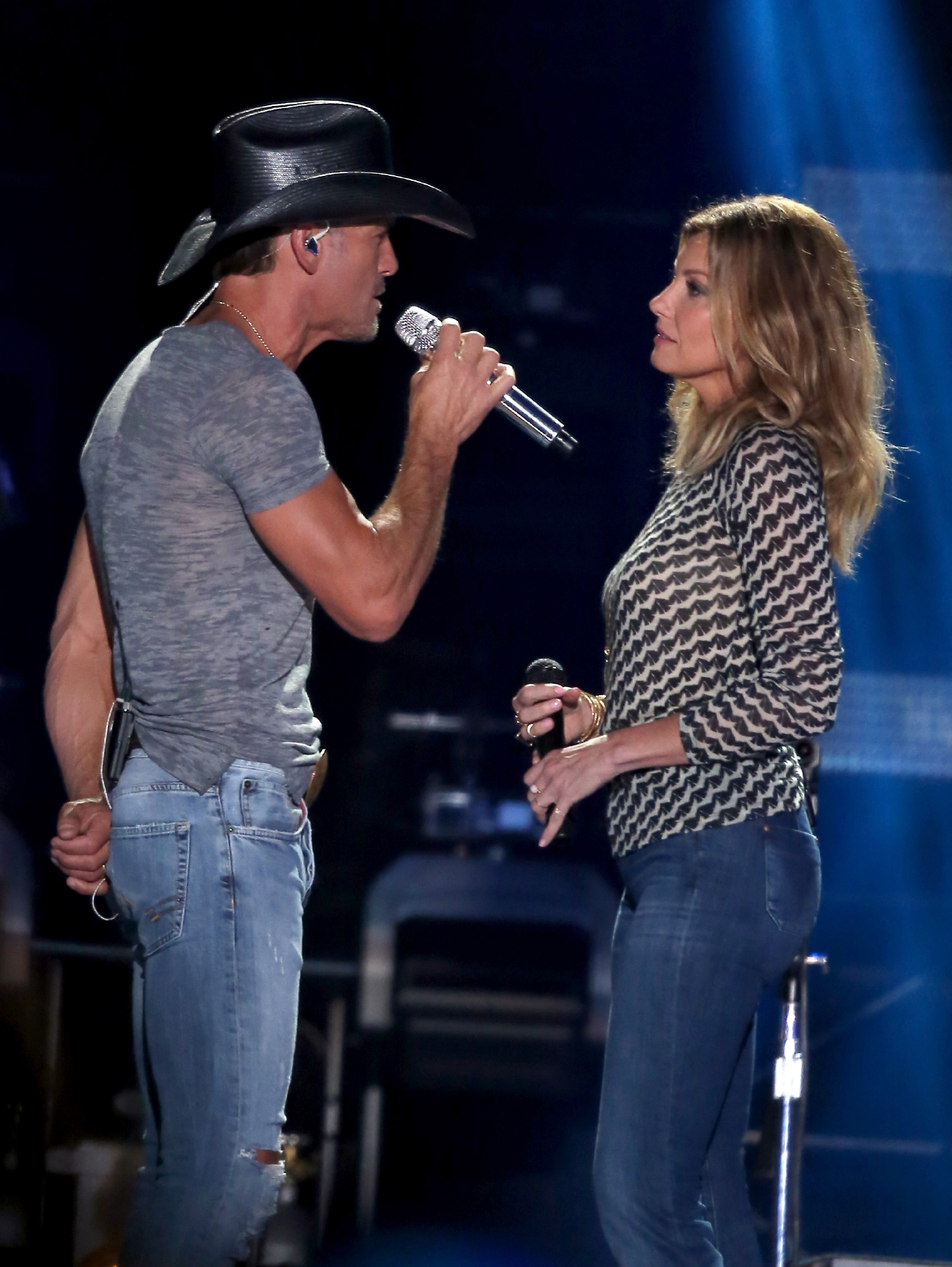 "For the first time since 2007, Faith Hill is touring! Of course, she is doing it with hubby Tim McGraw as part of their ""Soul2Soul The World Tour 2017"" which will be at the Verizon Center on Oct. 13.  (Image: Judy Eddy/WENN.com)"