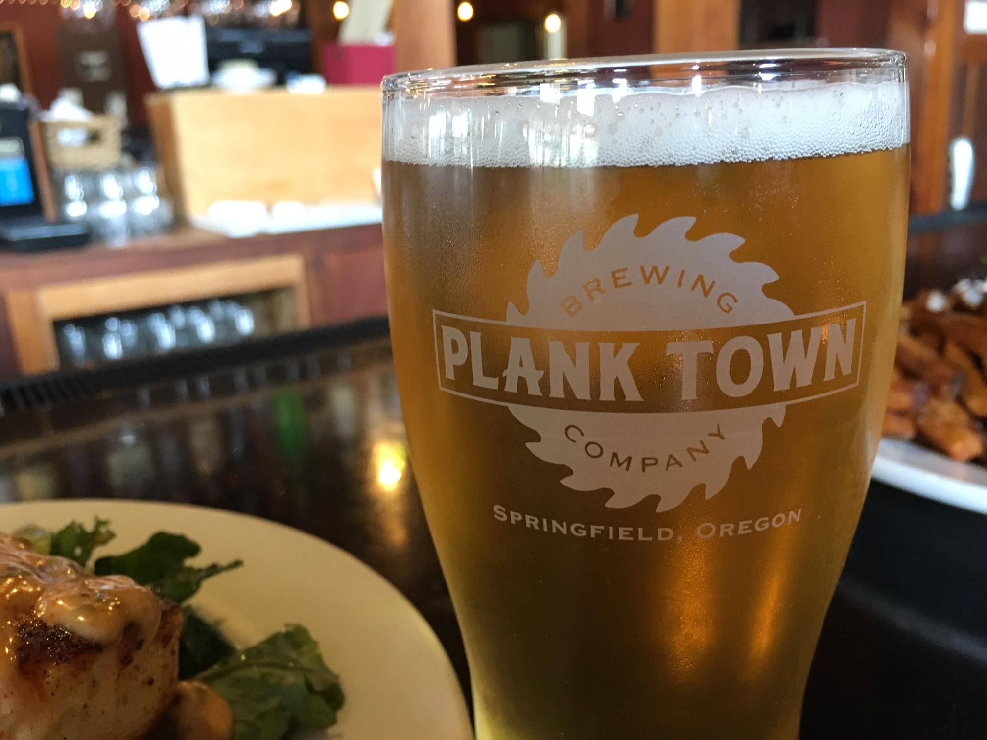 Plank Town Brewing Company serves up cold beer and hot food! Photo by Ellen Meny.