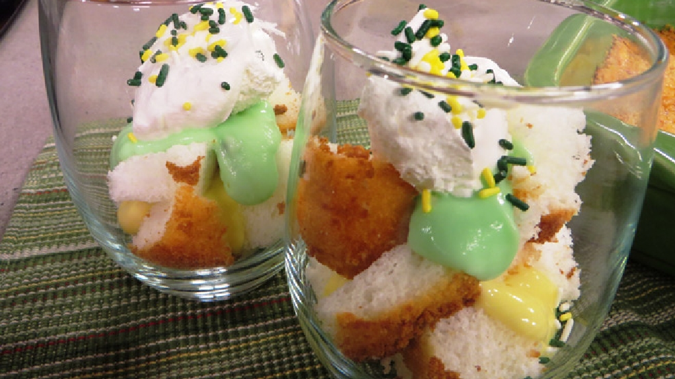 Green and Gold Trifle (WLUK)