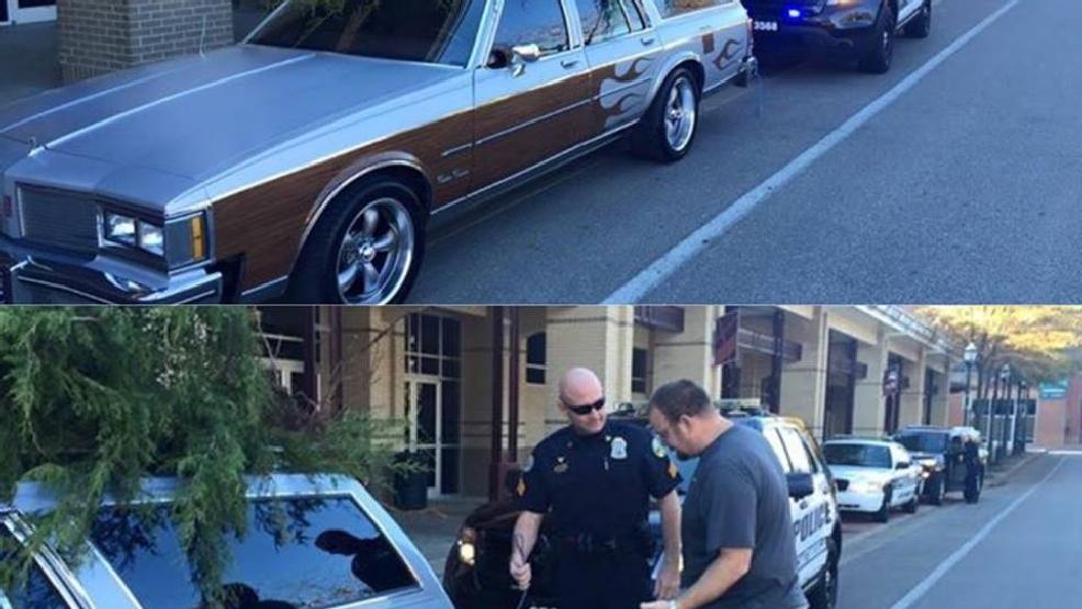 Christmas Vacation Car.Chattanooga Police Stop Griswald S Christmas Vacation Car Wtvc