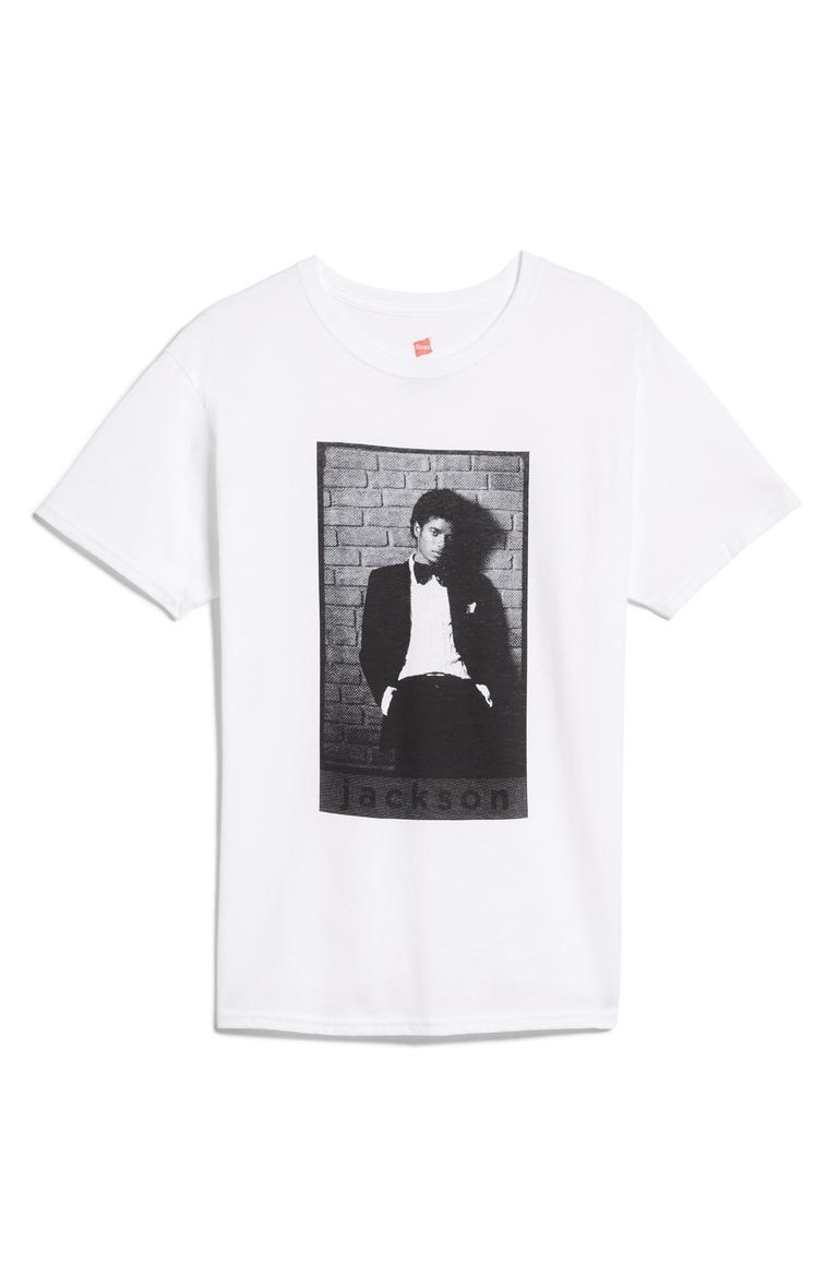 "ABG Michael Jackson Tee - $40. A good t-shirt never goes out of style. You can dress them up or down, but it's all about what statement your shirt is making! Here are our favorites from the Pop-In@Nordstrom x Hanes. This all-exclusive is a multi-branded collab using Hanes tee's as ""wearable art."" Well known brands and designers took to the task such as Warby Parker, Opening Ceremony, Saturdays NYC, Blair Breitenstein, A.L.C., and more. All these tees will be available at Nordstrom but online as well at nordstrom.com/pop (Image: Nordstrom)"