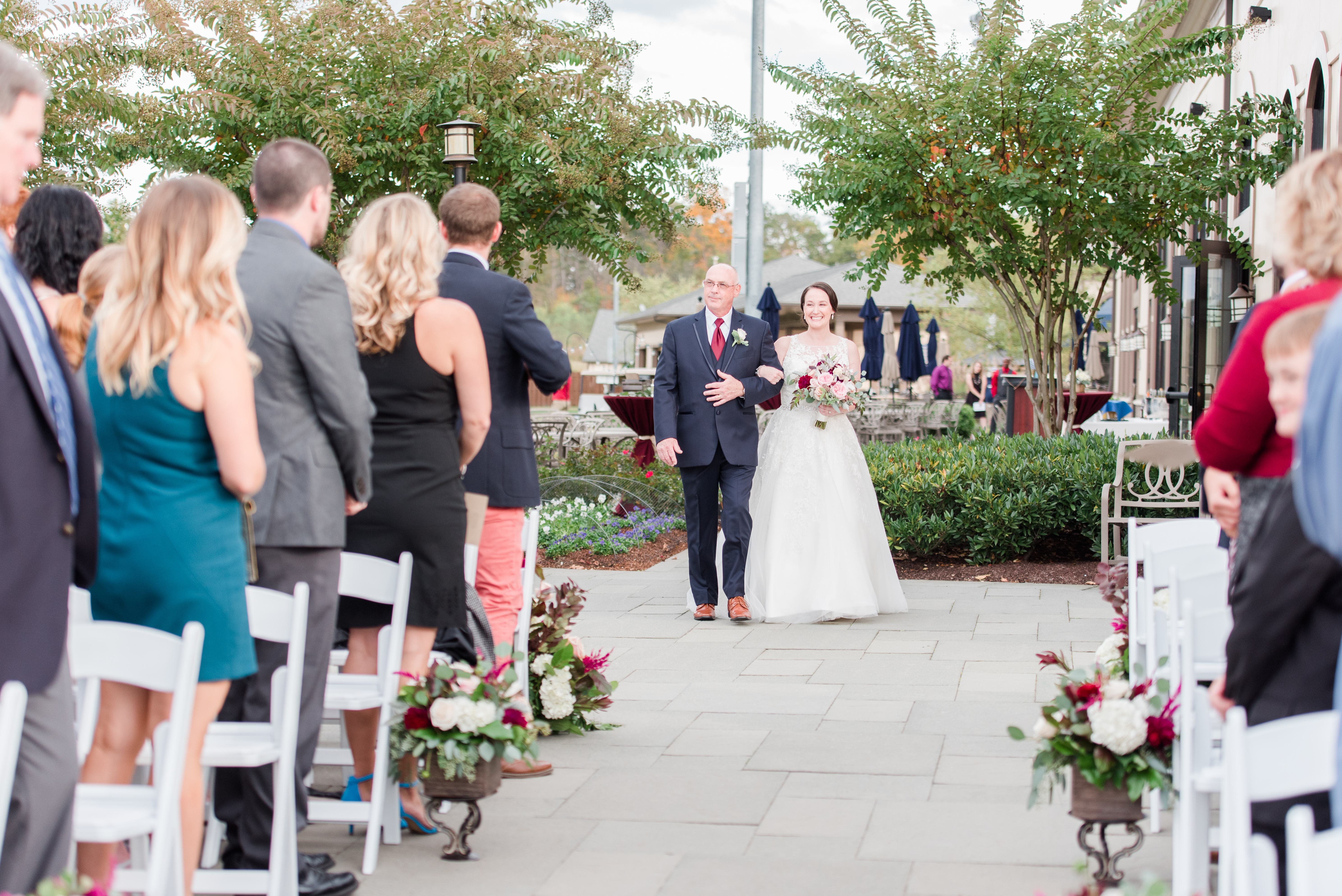 Dana and Will's Wedding Day // Venue: 1757 Golf Club // Hair & Makeup: Best Face Forward // Florist: Blooms Reston Floral // Cake: Sweets by E // Wedding Dress: Jeanette's Bridal // Photographer: Emily Alyssa Photography ( Image: Emily Alyssa Photography // http://emilyalyssa.com)
