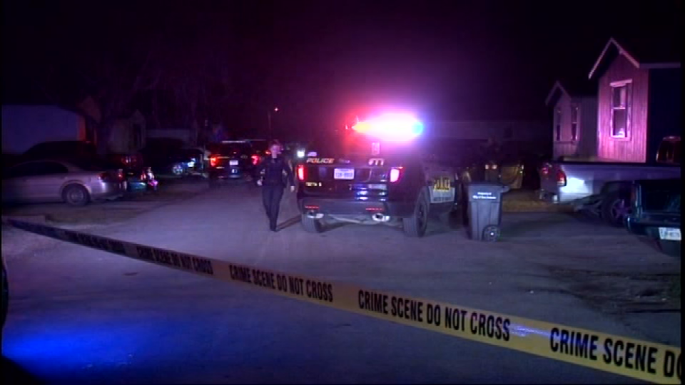 A 19-year-old man was shot and killed outside his home on Old Pearsall Road on Friday, February 9, 2018. (Photo: Sinclair Broadcast Group)