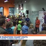 Champion runner visits Mechanicsburg