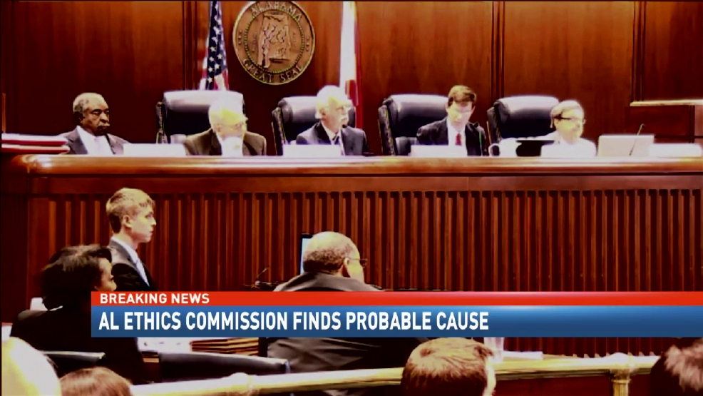 Alabama Ethics Commission Finds Probable Cause Gov