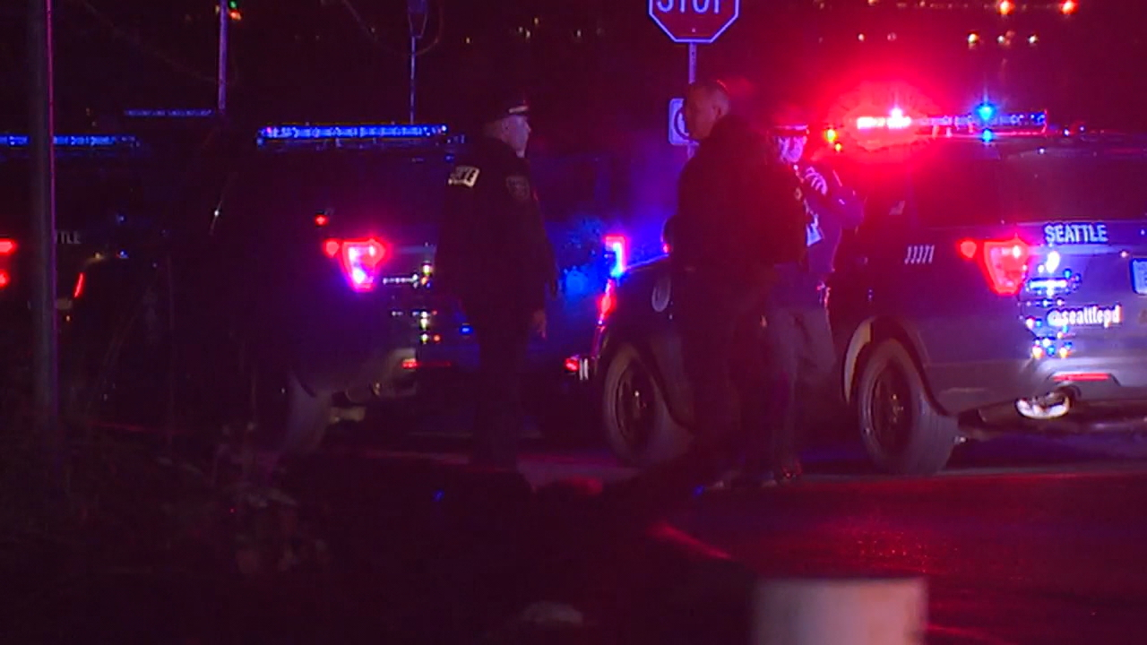 Police investigate a fatal officer-involved shooting at Seattle's Magnuson Park. (KOMO file photo)