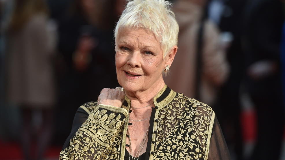 Judi Dench gets her first tattoo at 81 (and it's seriously inspiring)