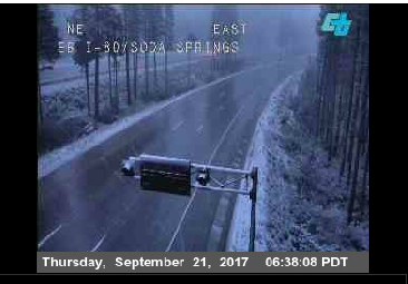 I-80 Donner Summit. Courtesy Caltrans