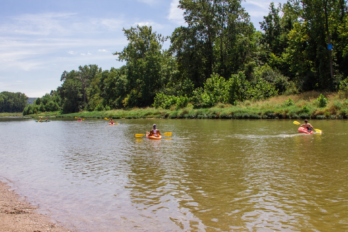 One of the best parts about living in Cincy is our access to water sports. That's why we love Green Acres Canoe & Kayak Rental. It's located just off of the I-275 loop in Harrison, OH. / ADDRESS: 10465 Suspension Bridge Rd. (45030) / IMAGE: Catherine Viox