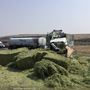 2 semis crash on west I-90 in Kittitas