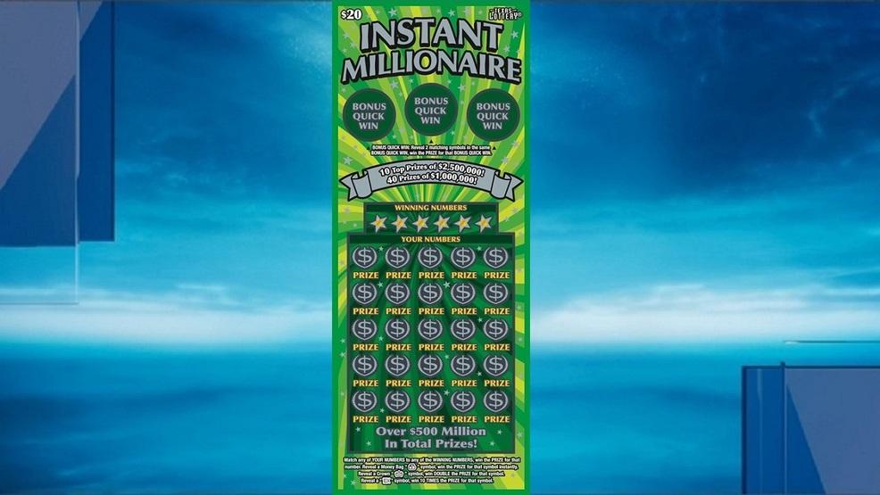 San Antonio Man Claims 2 5 Million Instant Millionaire