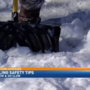 Shoveling snow can increase risk of heart attack