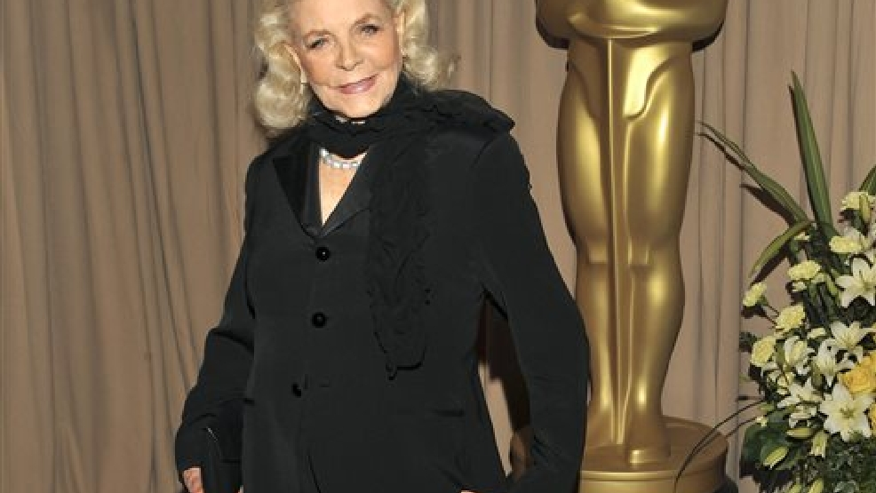 This March 7, 2010 file photo shows actress Lauren Bacall backstage during the 82nd Academy Awards in Los Angeles. Bacall, the sultry-voiced actress and Humphrey Bogart's partner off and on the screen, died Tuesday, Aug. 12, 2014 in New York. She was 89. (AP Photo/Vince Bucci, File)