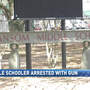 Escambia County FL student arrested after bringing a gun to school