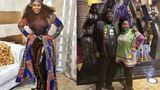 PHOTOS| Black Panther fans show up in African-inspired attire for film screening