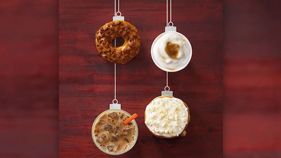 Dunkin' Donuts holiday flavors.JPG