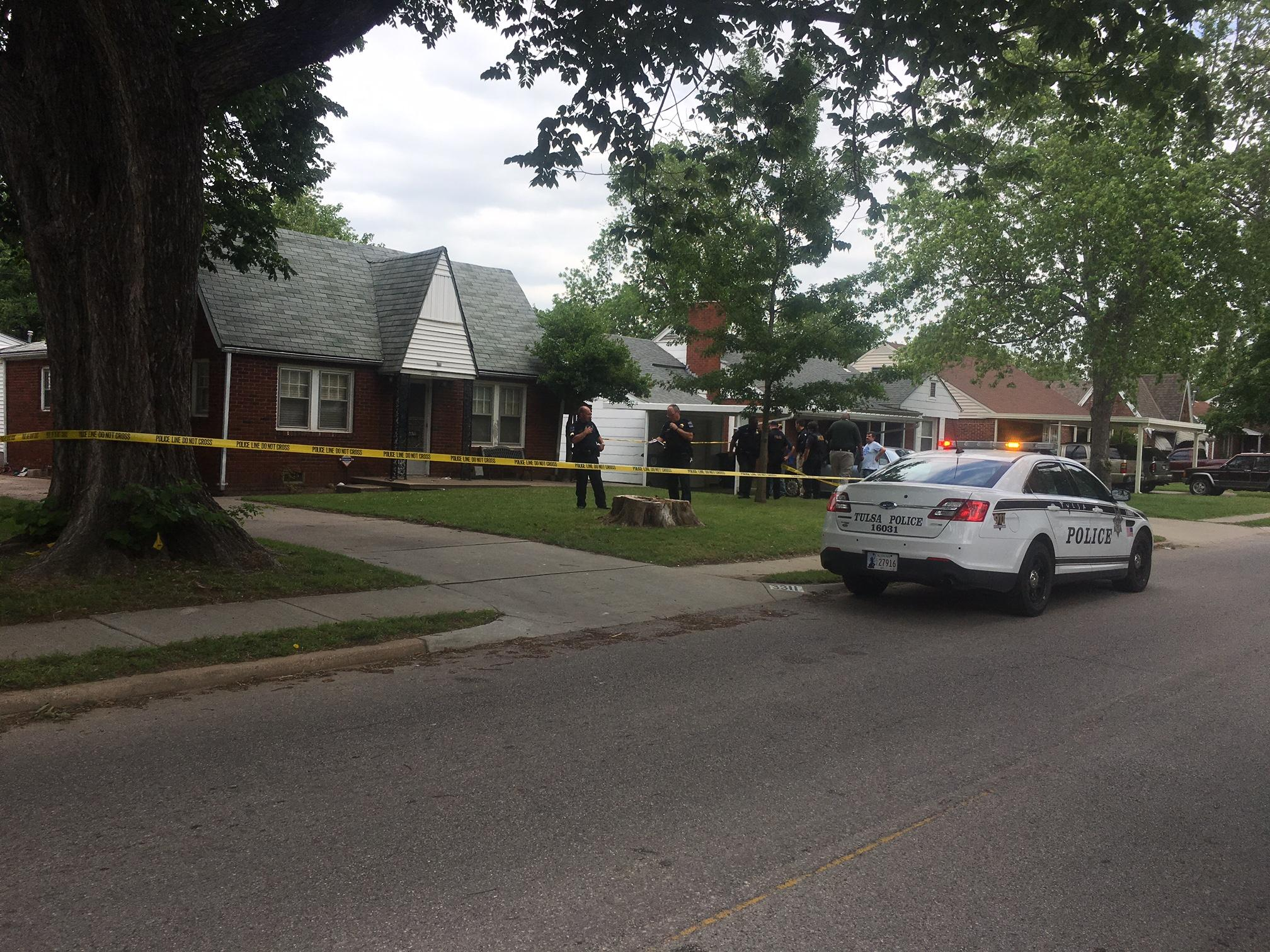 Tulsa police are on the scene of a reported shooting on the north side (KTUL).
