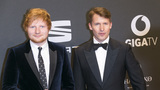 Ed Sheeran godfather to James Blunt's little boy