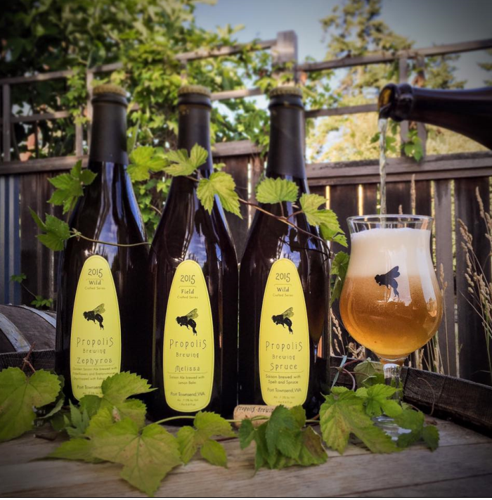 The most underrated brewery is Propolis in Port Townsend, Washington! (Image courtesy of Propolis House).
