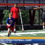 Big Red Youth Football Camp begins