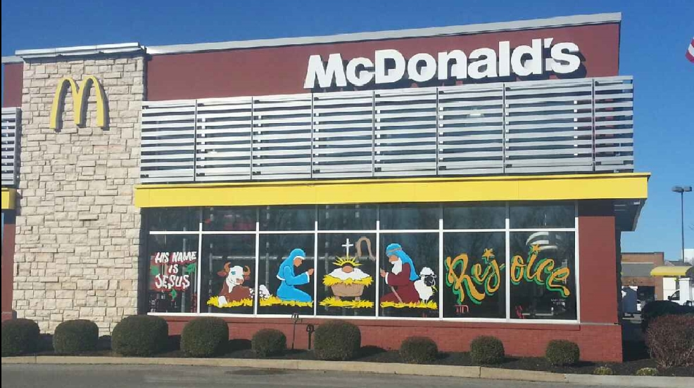 A McDonald's in Spring Hill, Tenn. (Gina Wolfe)