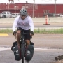 New York cyclist makes his way to Amarillo on his ride across the country