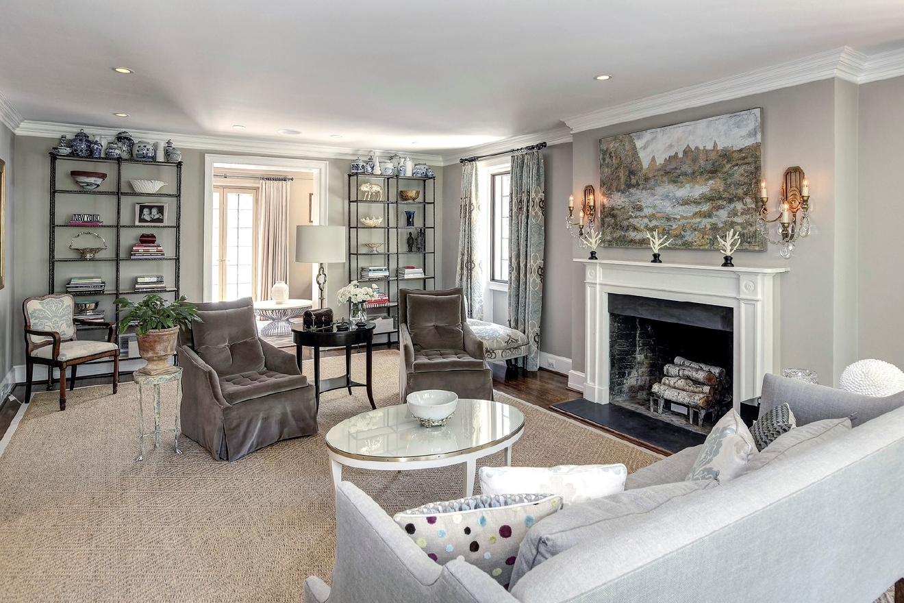 Inside the home the Obama family has purchased -- an 8,200-square-foot, 9-bedroom mansion in Kalorama. (Image:  HomeVisit.com)