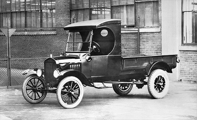 Meet the real granddaddy of the F-150. This was Ford's first designed-as-a-pick-up pick-up. Ford sold about 33,800 of these with prices starting at $281. Adjusted for inflation, that's still just $3,700.