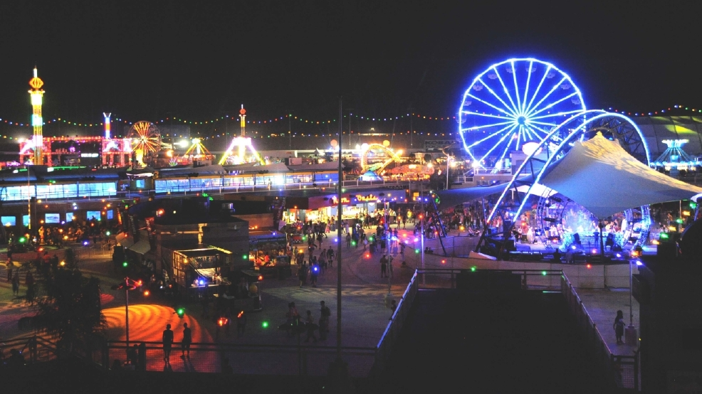 Plenty of fun revenue and security in store for edc at for Las vegas motor speedway edc