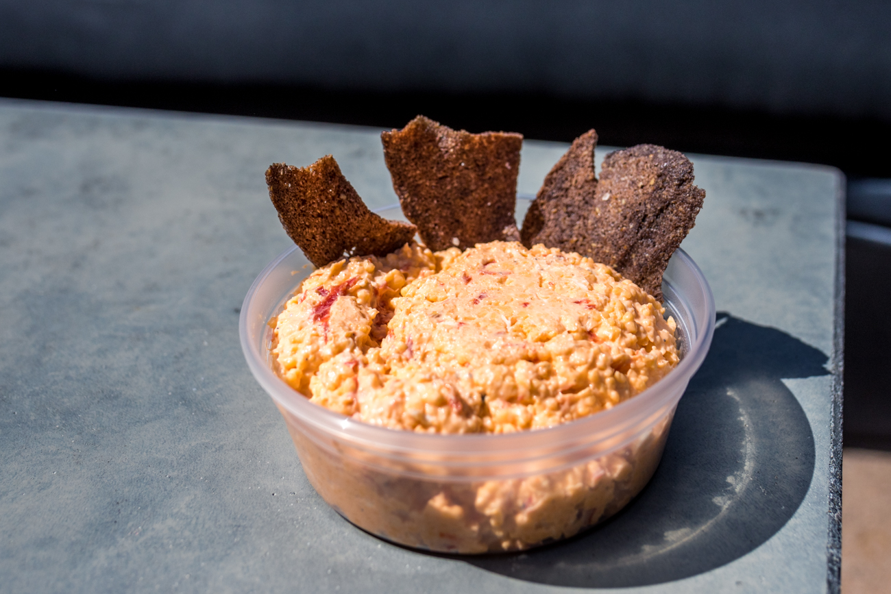 Bourbon Pimento Cheese / Image: Catherine Viox{ }// Published: 9.29.20