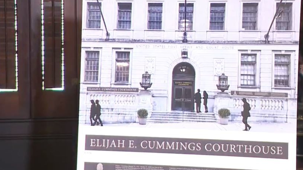 Courthouse to be named after late US Rep. Elijah Cummings