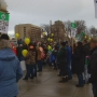 Pro life march lands on the steps of the Idaho Statehouse