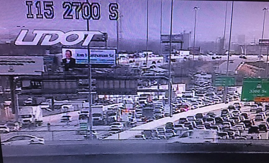 Major traffic accident on I-15 near 2900 S. causing delays (Photo: UDOT)<p></p>