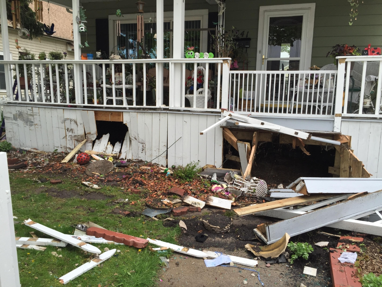 House of speed green bay - Damage To A House In The 300 Block Of N Ashland Ave In Green