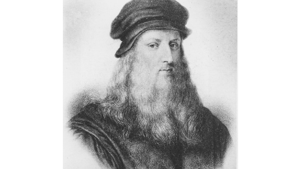 Leonardo da Vinci, Italian High Renaissance master, is shown in this undated portrait drawing. Da Vinci was born in Florence, Italy in 1452 and died in 1519. (AP Photo)
