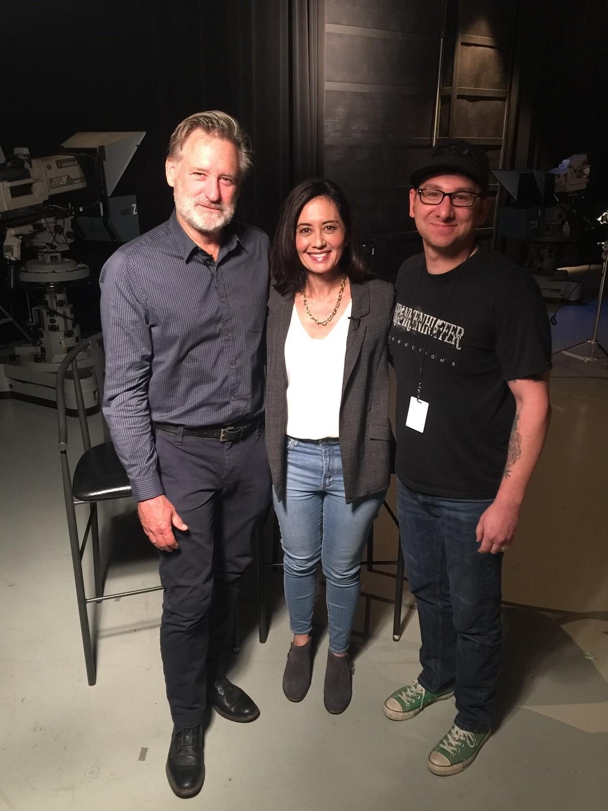 Bill Pullman, Malia Karlinsky and Ty Huffer.{ } (Image: Seattle Refined)