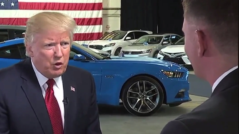 EXCLUSIVE: President Trump speaks to political reporter ...